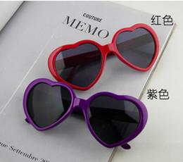 Wholesale Plastic Heart Sunglasses - Wholesale - 50PCS Peach love heart glasses glasses glasses sunglasses sunglasses yurt