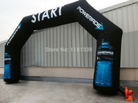 bprice-bprice prices - Wholesale-free shipping Oxford Fabric cloth Inflatable Archways,air arches for advertising,inflatable stitching arch for event or race