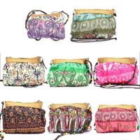 Wholesale Handmade Bags Summer Fashion - Wholesale-Summer Bohemian Beach Straw Women Bag Fashion Handmade Cute Purse Party Wedding Novelty Match Shoulder Casual Bags Ladies
