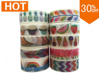Wholesale patterns china mt Masking washi japanese paper DIY adhesive toronto washiy Vintage