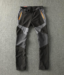 Wholesale Korea Grey Pants - Wholesale-Foreign trade Korea export factory stock!Men breathable quick-drying pants outdoor hiking camping hiking trekking fishing pants