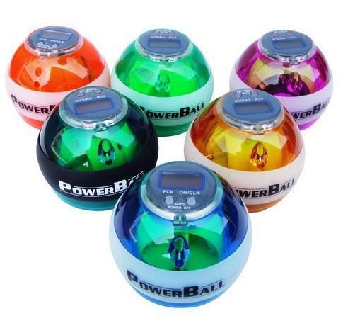Best quality PowerBall 10pcs Sports Gyro Speed Meter Power Ball Gyroscope Wrist Strengthener Balls