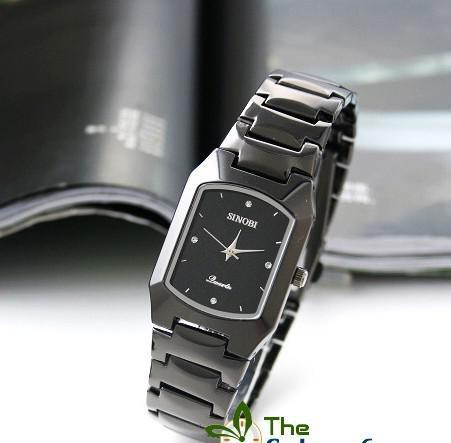 Новая скидка мода вольфрамовой стали часы персонализированные кварцевые мужские деловые часы Sinobi рождественские подарки 5 шт. / Лот