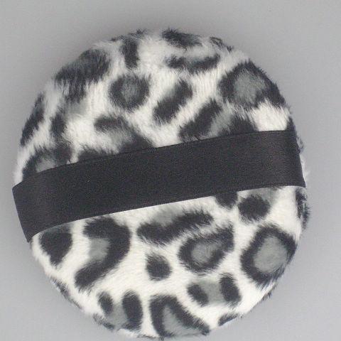30 sztuk / partia twarzy i ciała proszku w proszku w stylu puffowym czarno-białe puffy w proszku 85mm