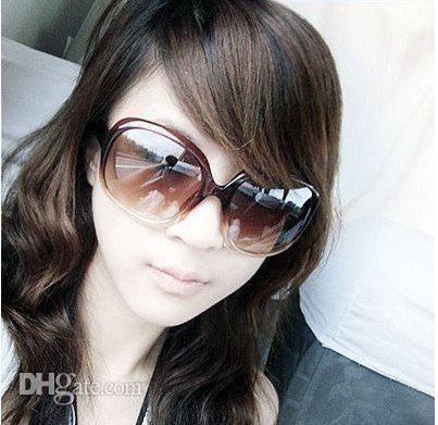 Occhiali da sole vintage retrò moda 2011 Occhiali da sole retrò donna arcaistica multicolore Brand New