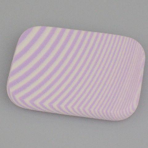 Sfot make-up song gezicht poeder bladerdeeg gezichtsvlak spons make-up cosmentix poeder bladerdeeg paars 60 * 44 * 8mm