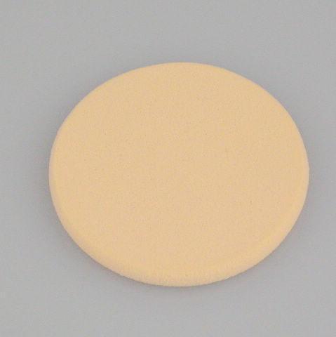 Mjuk make up songe ansikte pulver puff ansikts ansikte svamp makeup cosmentix pulver puff färg sbr 58 * 7mm