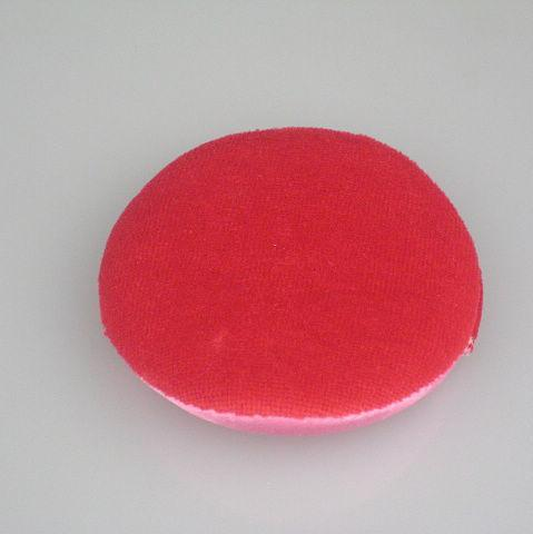 Face and Body Sponge Powder Puff Cotton glove Red Powder Puff /bag 80 mm