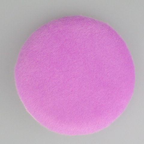 Twarz i ciało gąbki proszek Puff Short Włosy Purpurowa Rękawiczka Puff 30 Sztuk / Torba 85mm