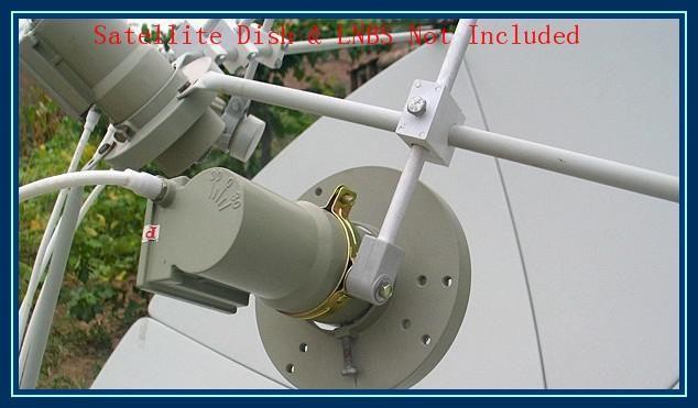 LNB Staffa / Supporto / Supporto per banda C, Satellite FTA LNB Staffe, Anticorrosivo Anti-aging,