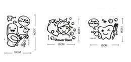 $enCountryForm.capitalKeyWord UK - New Bathroom Accessories Glass Tile Decoration Sticker Cartoon Brushing Sticker Mural Funny Toilet Sticker Decor Bathroom Art Decal Sticker