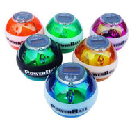 Wholesale Best quality PowerBall Sports Gyro Speed Meter Power Ball Gyroscope Wrist Strengthener Balls