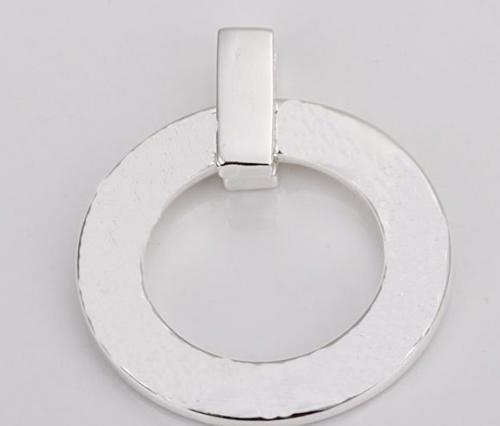New 925 Silver Necklace pendants double cubes fit charms necklace JOS013