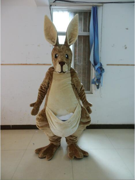 Kanguru maskot kostümü
