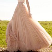 Wholesale Navy Blue Dress Accessories Color - Blush wedding type too soft gauze skirt type bride wedding accessories drop the bride wedding dress skirt