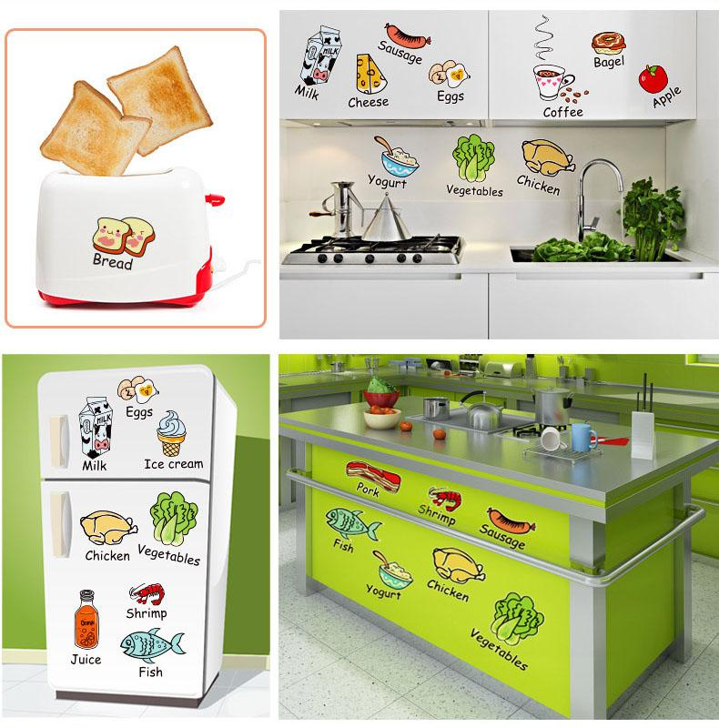 Beautiful wholesale tile store contemporary the best bathroom cartoon kitchen tile refrigerator decoration decal home art mural tyukafo