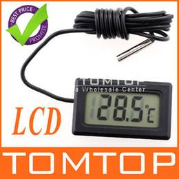 Wholesale Display Freezers - LCD Display Digital Fridge Freezer Thermometer Temperature -50~ +70'C H155 30pcs