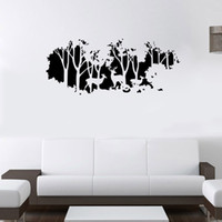 Wholesale forest animal wall stickers for sale - Group buy Extra Large Deer in the Forest Wall Art Mural Decor Living Room Bedroom Home Decal Wallpaper Poster Art Applique Decor x cm