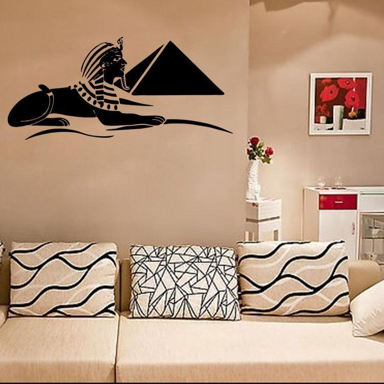 Hervorragend Großhandel Sphinx Wand Kunst Wandbild Poster Alten Ägypten Schatz  Wandtattoo Wohnzimmer Schlafzimmer Künstlerische Dekoration Wand Tattoo Wand  Applique Von ...
