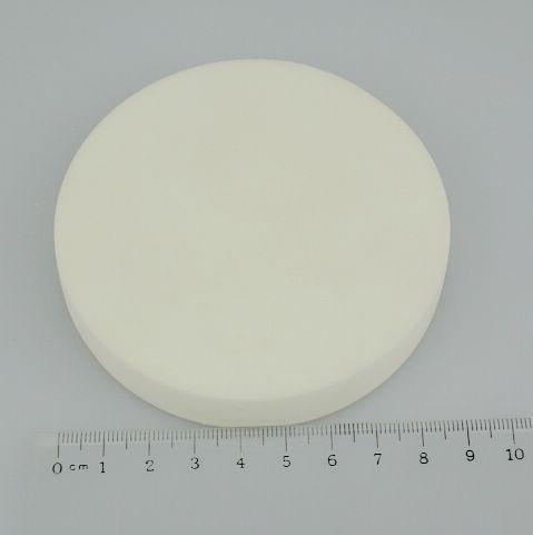 Mjuk make up songe ansikte pulver puff ansikts ansikte svamp makeup kosmenix pulver puff vit icke-latex 90 * 15mm