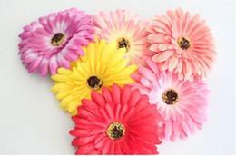 verstellbares kunststoffarmband Rabatt viele Farben für Ihre wählen Daisy Seidenblume Haarspange Gerbaer Haar Halter Tasche Zubehör