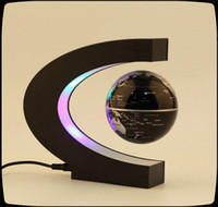 Wholesale C shape Decoration Magnetic Levitation Floating Globe World Map