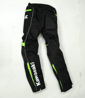 Wholesale waterproof cycling pants men resale online - The new style High quality kawasaki motorcycle pants racing off road pants cycling trousers Racing off road clothing motorcycle ridin