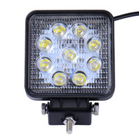 Wholesale 24v off road lights - Super Bright worklight Lamp 27W led work light 12V 24V Spot Flood Lights Off road Motorcycle Car Truck