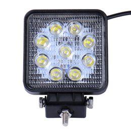Wholesale Flood Cars - Super Bright worklight Lamp 27W led work light 12V 24V Spot Flood Lights Off road Motorcycle Car Truck
