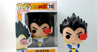 Wholesale Dragon Ball Z Vegeta - New hot sale FUNKO Pop Dragon Ball Z Super saiyan Vegeta Boxed PVC Collection 12CM gift for children