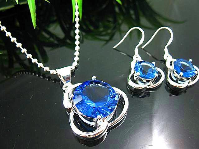 Artistique de grenat quartz 925 argent magnifique collier de pierres précieuses boucles d'oreilles bagues gemmes ensemble de bijoux