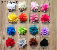 "Wholesale Tiaras For 15 - 15% off!New Arrival 2""chiffon flower for hair clip Hair Accessories for headband brooches accessories Clothing and shoes accessories 80pcs"