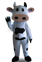 Wholesale Cattle Bull - new 2016 mesure mascot cheap Real Pictures Deluxe dairy cattle Toro Bull Betsy Cow Mascot costume Adult SIZE Halloween Easter party custom