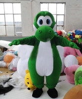 Wholesale Mario Customs - Custom made High quality Mario yoshi mascot Costume Characters Costume Halloween Kids Party Gift Dress