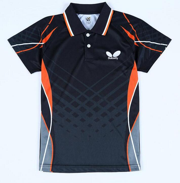 2018 2016 New Butterfly Table Tennis Shirts Jerseys Men\'S / Pingpong ...