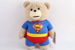 online shopping 2016 The Film Teddy Bear Ted Plush Toys In Apron England Love Sweater CM Soft Stuffed Animals Ted Bear Plush Dolls