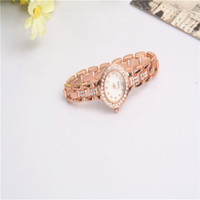Wholesale China Table Folding - Rose Jin Zhengpin female bracelet table leisure fashion watches America and Europe pop women rose gold watch make in china A2016051514