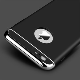 Wholesale Luxury 5s - High Quality Luxury Ultra Thin Shockproof Armor Phone Cover Case For iPhone 5 5s SE 6 6s Plus case