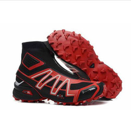 Wholesale Eva Hats - New Men's Spikecross Snowcross Outdoor Sports Shoe Winter Snow Boots Running Shoes for Man Hat Sale Free Shipping
