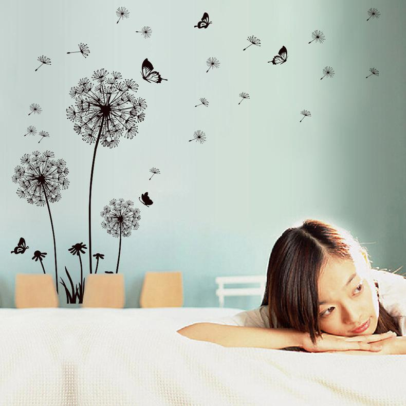 Beautiful Dandelion Removable Room Wall Sticker Art Mural Home Decal Decoration