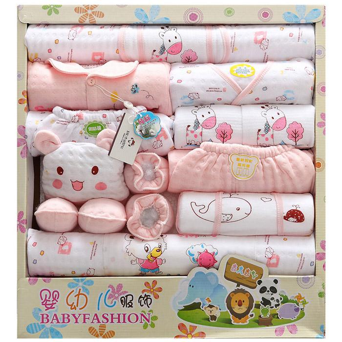 2018 Thickened 0 12month 2016 Newborn Baby Clothes Sets Infant Child