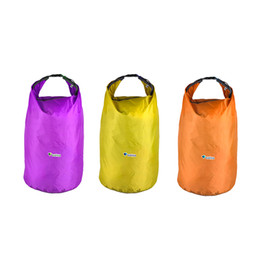 Wholesale Dry Bag Canoe Camping - Sports Outdoor Camping Travel 20L 40L 70L Folding Portable Waterproof Bag Storage Dry Bag for Canoe Kayak Rafting Kit Equipment 2503044