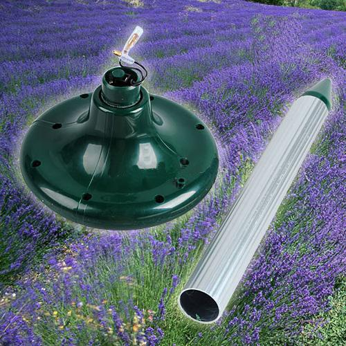 Solar Power Mouse Topi Mole Roditore Repeller parassiti Giardino Helper Yard Ultrasuoni Solare Controllo dei parassiti