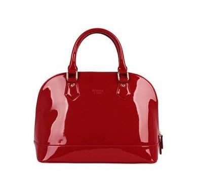 Lady Patent Leather Handbag Black Patent Handbag Lady Red Patent ...
