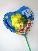 Wholesale Heart Shaped Ballons - 100pcs aluminum balloons dolphin style holiday balloon foil balloons heart shape ballons decoration party ballons