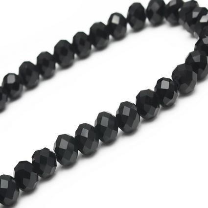 60pcs encanto más negro 10 mm Swarovski crystal suelta Rondelle Beads, haciendo todo tipo de joyas