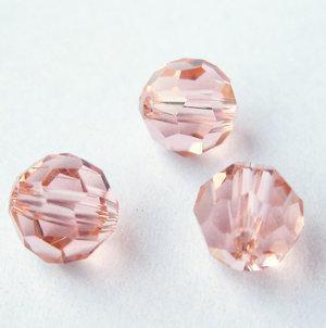 30 piezas de agua agradable - rojo facetado 10 mm de cristal perlas sueltas de cristal, hecho en China