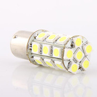 Wholesale Car Hid Light Price - White 27 5050-SMD LED Car Rear Tail Corner Light Bulb 1156 27 BA15s DC 12V good price 10pcs lot free shipping