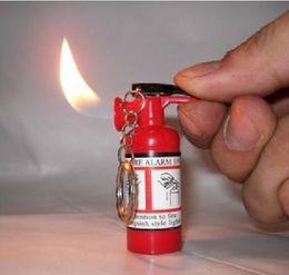 regali impronta digitale Sconti 2016 moda creativa estintori accendisigari bombole di gas accendisigari in metallo antivento accendino fiamma