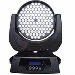 2019 rueda de gobo Cabeza móvil LED RGBW de alta potencia de iluminación de la etapa 108 * 3W DMX 12channels Dj luz LED